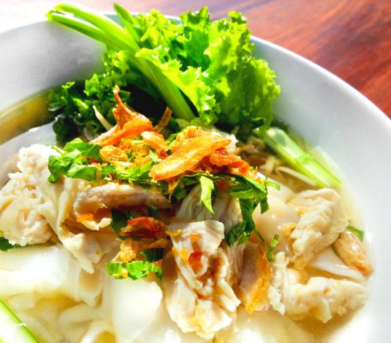 Thai Broth, Rice and Noodle